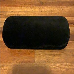 Gucci black velvet Sunglass Case